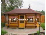 Фото  7 Фасадная доска: блок-хаус. Хороший радиус. Ширина: 730(735)мм. Толщина: 35мм. Длина: от 7,0м до 4,0м. 7792477