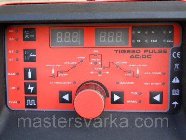 Фото 2 Аппарат аргонодуговой сварки Искра TIG 250 AC/DC Pulse 335998