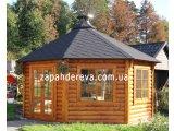 Фото  2 Фасадная доска: блок-хаус. Хороший радиус. Ширина: 230(235)мм. Толщина: 35мм. Длина: от 2,0м до 4,0м. 2292427