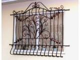 решетки кованые на окна код 116