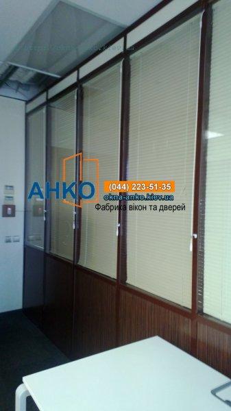 Фото 2 Непрозрачные алюминиевые перегородки от производителя 3260
