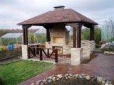 Фото  2 Цементно-стружечная плита ЦСП 20мм для изготовления беседок, душевых кабин, туалетов, собачьих будок. 2946546