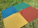 Фото 3 Гумова плитка для підлоги, гумове покриття СПОРТФЛЕКС, жовте 336938