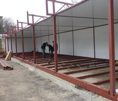 Фото 5 Будівництво з МЕТАЛОКОНСТРУКЦІЙ 295158