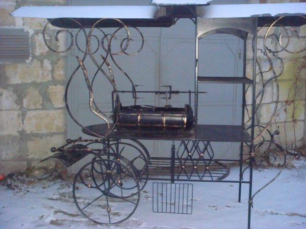 Фото 1 Мангал на колесах кований .мАНГАЛИ .БАРБЕКЮ. 336327