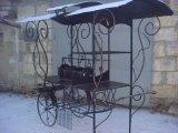 Фото 2 Мангал на колесах кований .мАНГАЛИ .БАРБЕКЮ. 336327