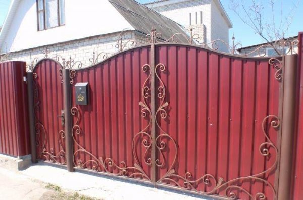 Фото 3 Ворота с профлиста 332671
