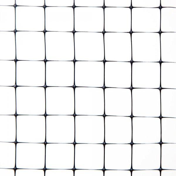 Фото 3 Сетка пластиковая от кротов Клевер 12х14 мм 0,5х100 м черная 332140