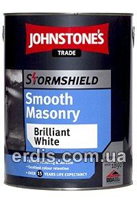 Фото  1 Johnstones Stormshield Smoosh Masonry акриловая фасадная краска 1807296