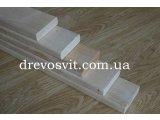 Лежак (брус, полиці) для лазні, сауни - липа. Висока якість обробки деревини. Примусова конвекційна сушка.