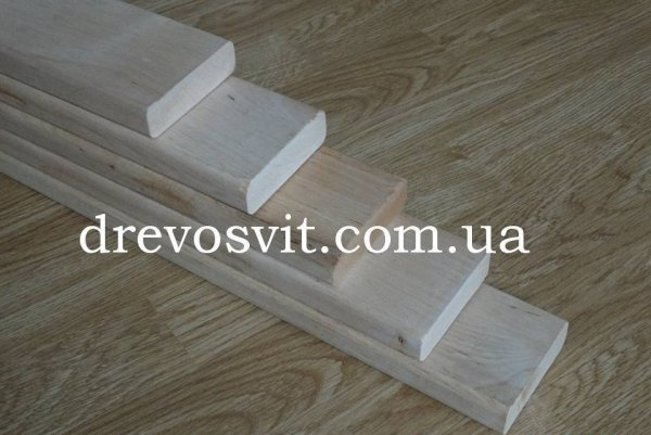 Фото  1 Лежак (брус, полиці) для лазні, сауни - липа, вільха. Висока якість обробки деревини. Завжди в наявності. Доставка. 1877915