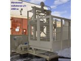 Фото  7 Н-67 м, г/п 2000 кг, 2 тонны. Подъёмник строительный грузовой мачтовый секционный для строительных работ. 2020205