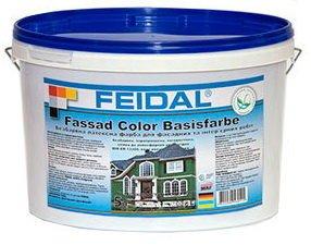 Фото  1 FEIDAL Fassaden Color Basisfarbe бесцветная фасадная краска 1807305
