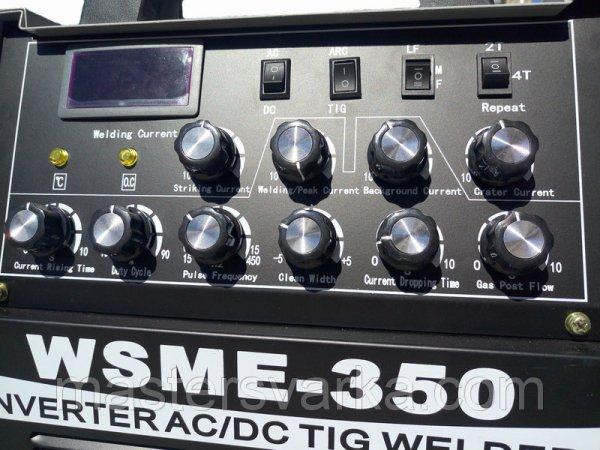 Фото 2 Аргонодуговой зварювальний апарат Луч Профи WSME-350 AC / DC 336010