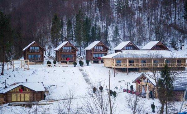 Фото 1 Бани и дома из дикого сруба с доставкой по Украине 321970