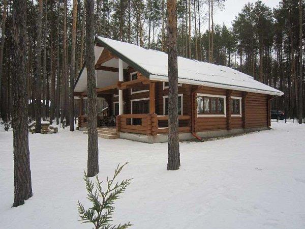 Фото 2 Бани и дома из дикого сруба с доставкой по Украине 321970