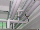 Фото  1 Угол ПВХ K-Flex 25x219PVC SE 90-3S в качестве защитного покрытия труб с теплоизоляцией внутри помещения. 2067251