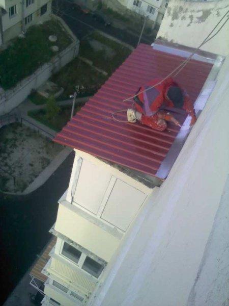 Фото 1 Кровельные работы, ремонт козырьков балкона, укл. шифера, Харьков 336278
