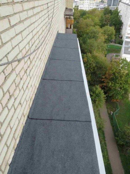 Фото 2 Кровельные работы, ремонт козырьков балкона, укл. шифера, Харьков 336278