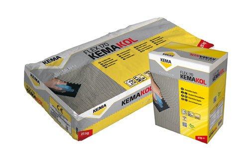 Фото  1 KEMAKOL FLEX 170 клей для плитки с увеличенной эластичностью 1811833