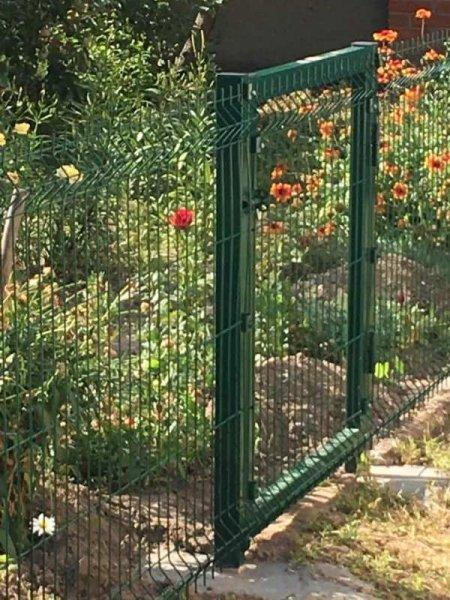 Фото 2 Огорожа з зварної сітки, 3D паркан, ворота. 341516