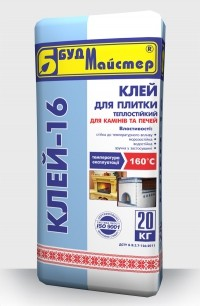 Клеевая смесь «БудМайстер КЛЕЙ-16»
