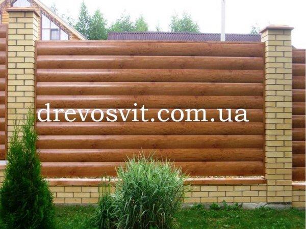 Фото  1 Блок хаус сосна для зовнішніх та внутрішніх робіт. Розміри 80*25*3000 та 130*35*4000(4500)мм. 1864039