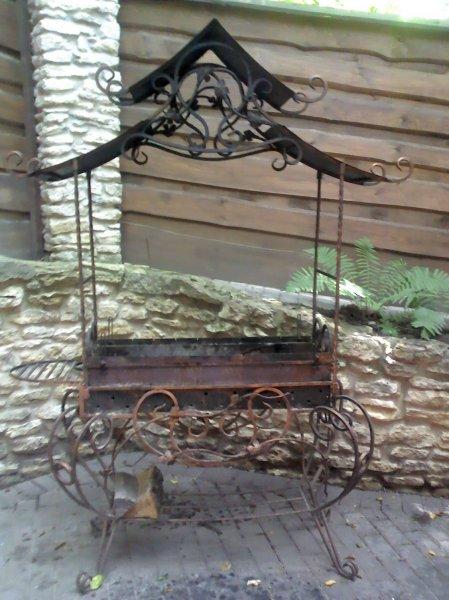Фото 8 Мангал на колесах кований .мАНГАЛИ .БАРБЕКЮ. 336327