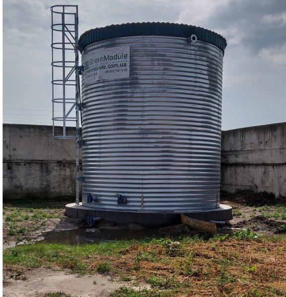 Фото 1 Резервуар РВС 1000 м3 пожарная емкость 340520