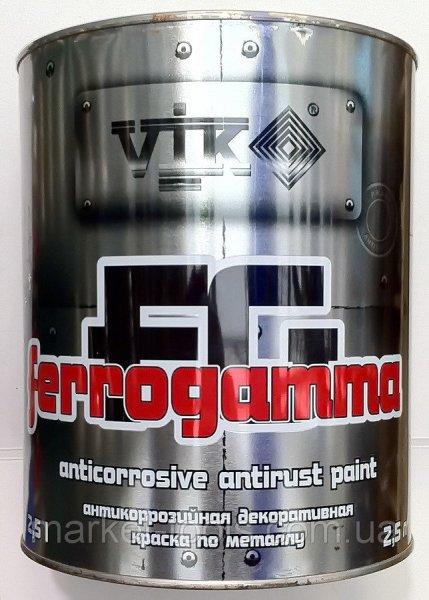 Фото 1 Профессиональная Краска по металлу VIK FERRO GAMMA 327233