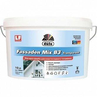 Фото  1 Dufa Fassaden Mix B3 Transparent фасадная краска 1807238