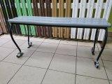 Фото 1 Лавка Адажіо без спинки з кованими ніжками 326679