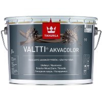 Фото  1 TIKKURILA Valtti Akvacolor фасадная лазурь Тиккурила Валтти Акваколор 9л 1806860