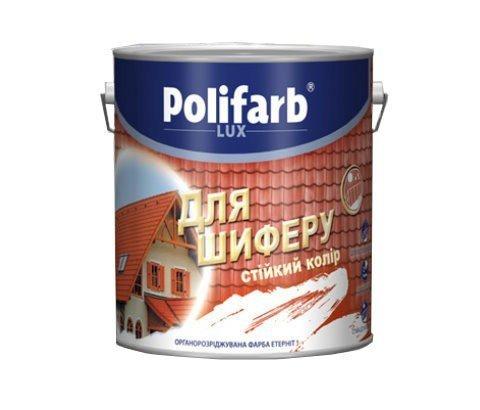Фото  1 Polifarb ЭТЕРНИТ акриловая краска для шифера 1807247