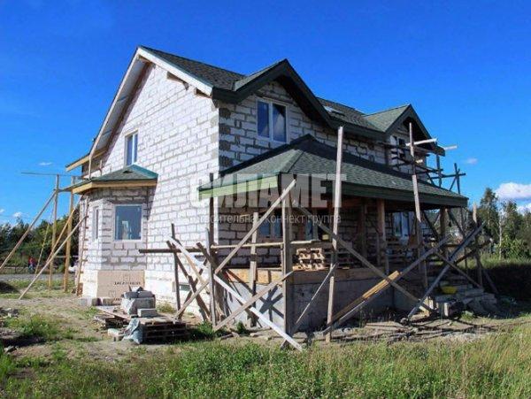 Фото 2 Дом из газоблока, пеноблока, монолитные дома под ключ 328191