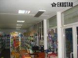 Фото  5 Інфрачервоний промисловий обігрівач EKOSTAR R2500 220482
