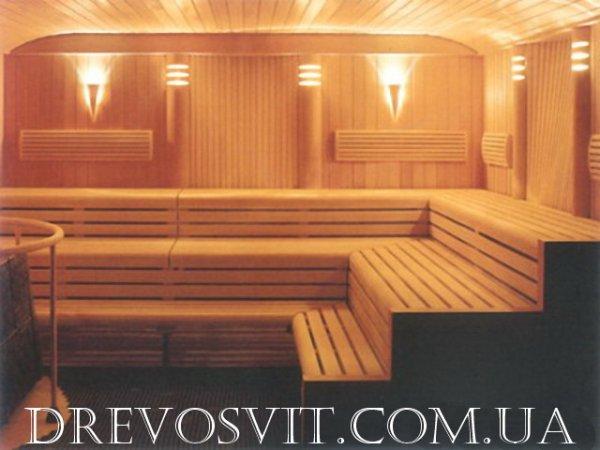 Фото 2 Лежак (брус полок) для бани, сауны Сквира 325987