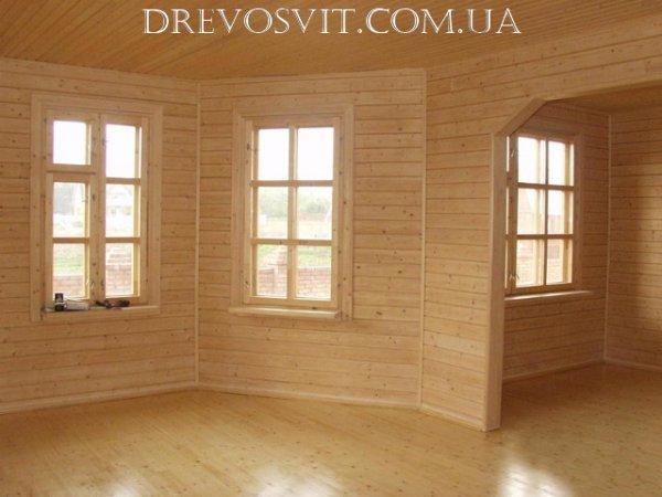 Фото 2 Вагонка деревяна сосна Судова Вишня 326964