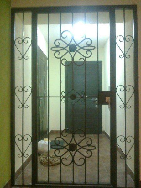 Фото 3 Решетка на двери, дверь решетка,тамбурные перегородки Киев 166878