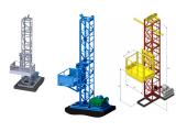 Фото  1 Н-73 м, г/п 2000 кг, 2 тонны. Мачтовый строительный подъёмник для подачи стройматериалов. 2020158
