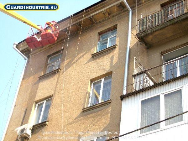 Фото 7 Защита фасадов, кирпича ,мрамора , гранита. Протект Гард (Франция) 338633