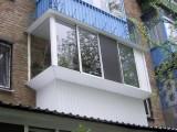 балкони, лоджії львів металопластик алюміній