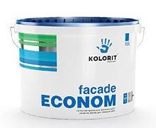 Фото  1 KOLORIT Facade Econom латексная краска на акрилатной основе 1807294