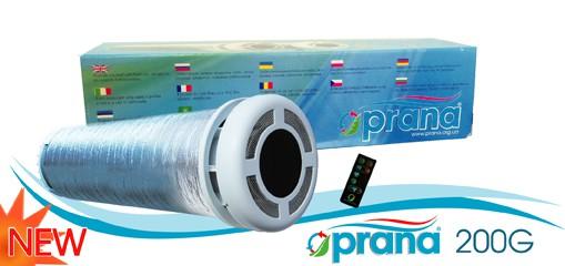 Компактная вентиляция дома - приточно-вытяжная с рекуперацией воздуха. www. PRANA. org. ua