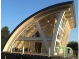 производство большепролетных гнуто-клееных и клееных деревянных конструкций.