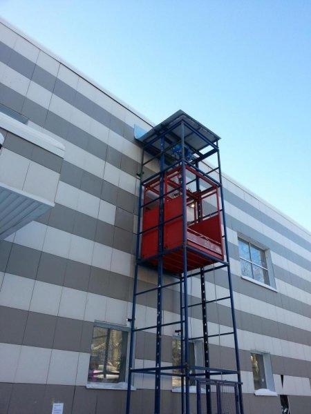 Фото 1 Метало каркас для фасадного подъемника лифта (ограждение) 331560