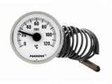 Термометр капиллярный длина трубки 1000мм, класс точности Pakkens