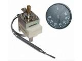 Термостат капиллярный с ручкой, длина трубки 850мм, однофазный, 250V, 15A FSTB Турция