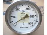 Термометр патронный температура 500С диаметром 100 мм