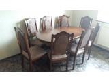 Столи і Крісла з масиву Дуба